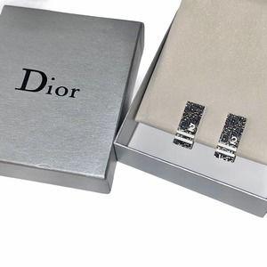 VTG Christian Dior Clip on Silver Trotter Earrings